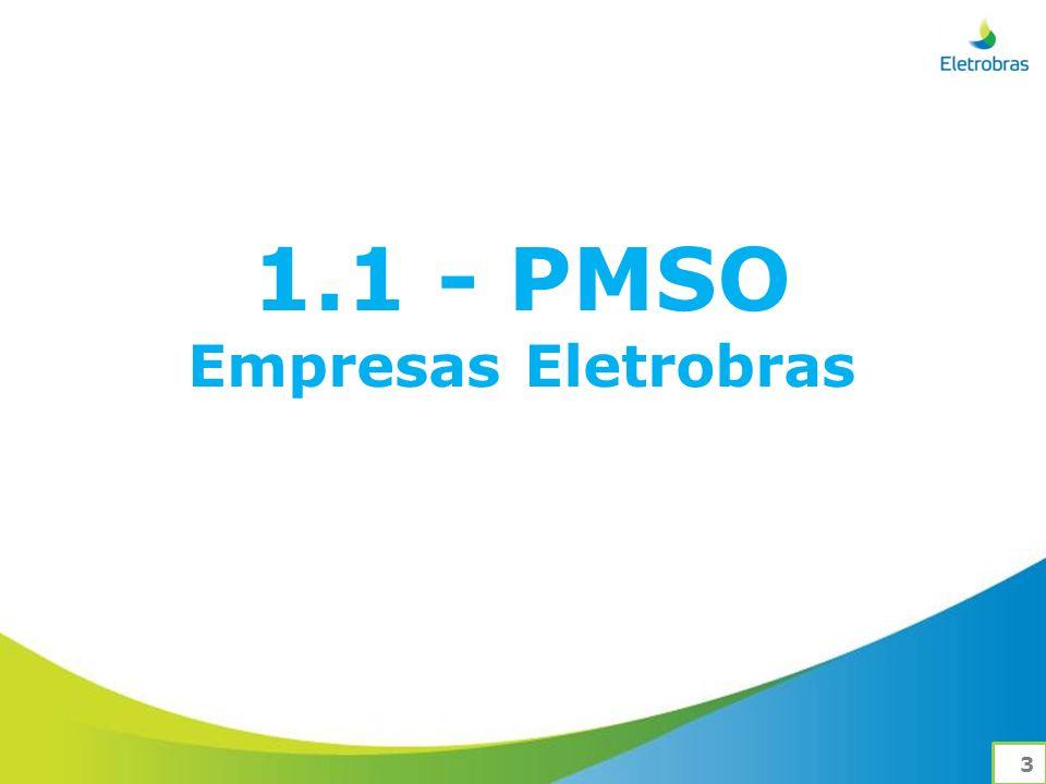 1.1 - PMSO Empresas Eletrobras