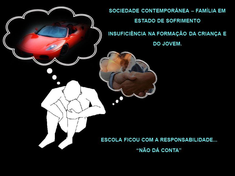 SOCIEDADE CONTEMPORÂNEA – FAMÍLIA EM ESTADO DE SOFRIMENTO