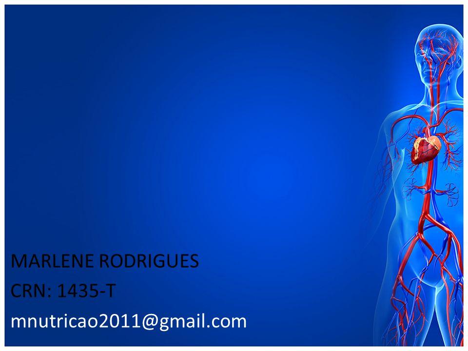 MARLENE RODRIGUES CRN: 1435-T mnutricao2011@gmail.com