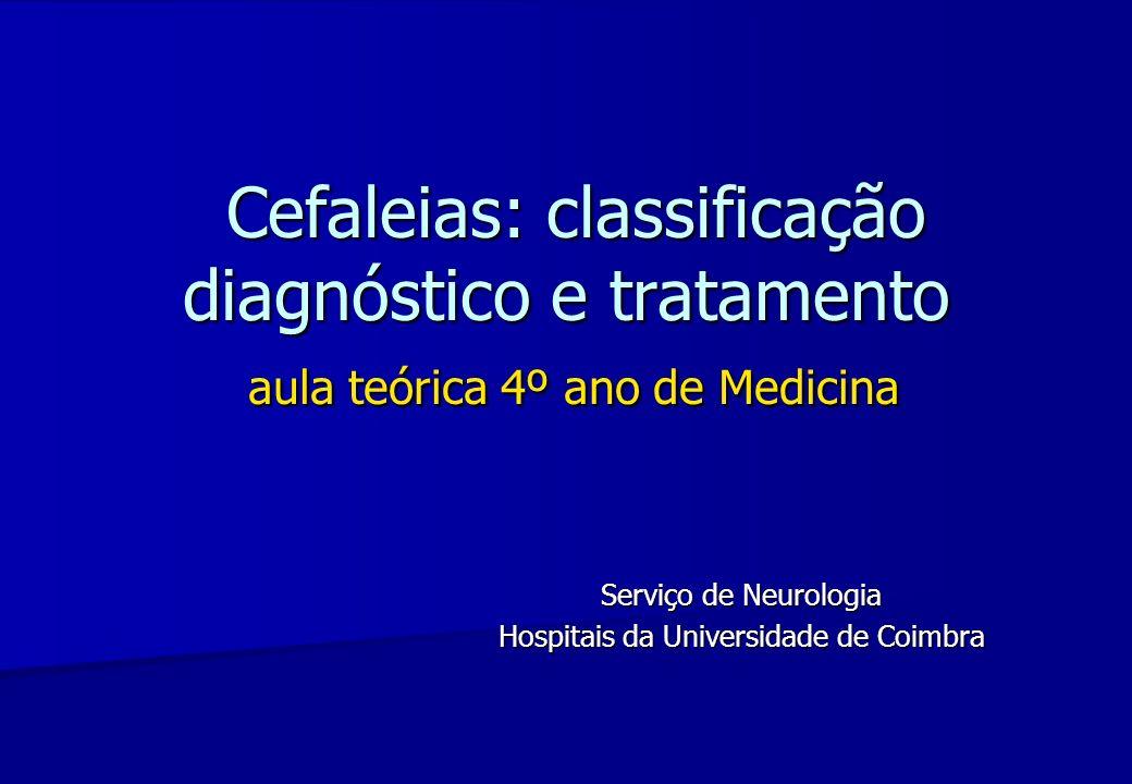 Serviço de Neurologia Hospitais da Universidade de Coimbra