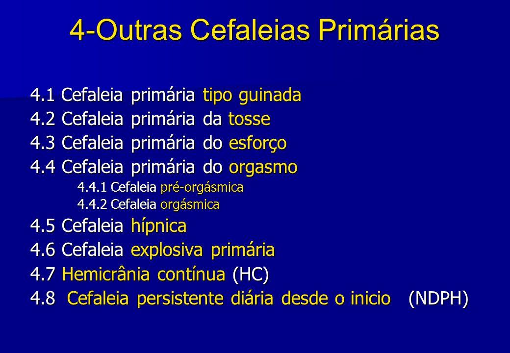 4-Outras Cefaleias Primárias