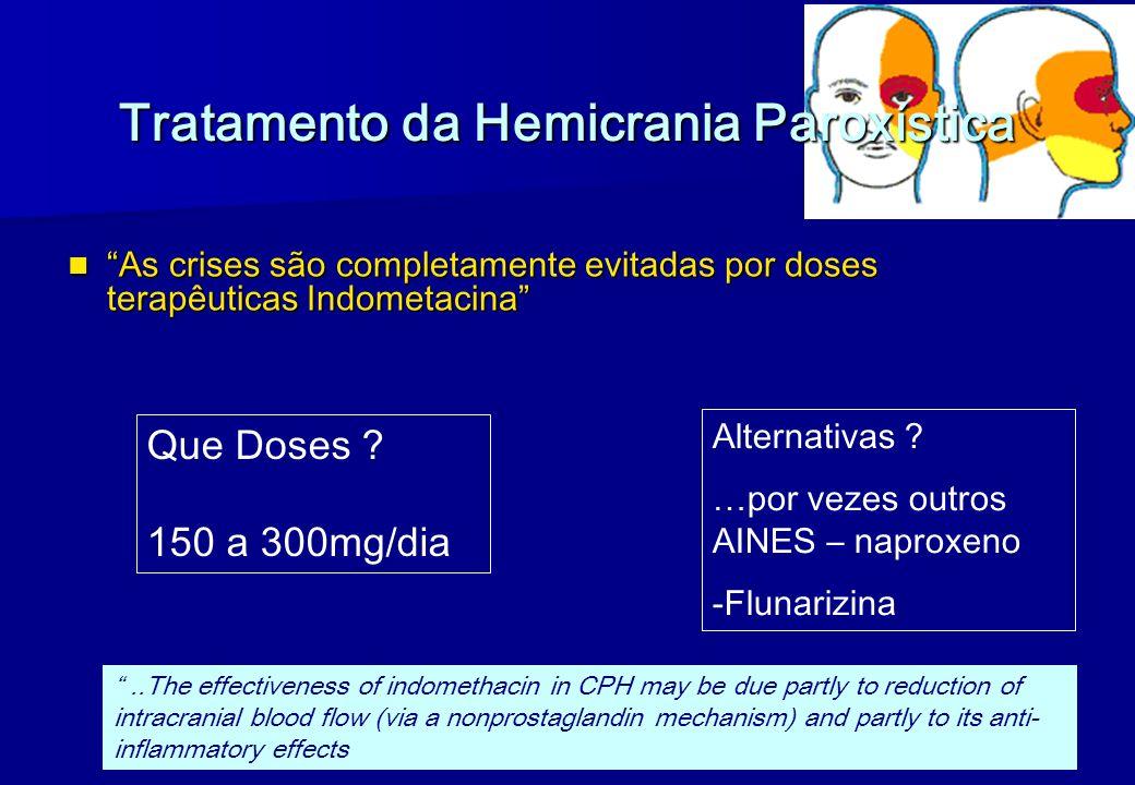 Tratamento da Hemicrania Paroxística