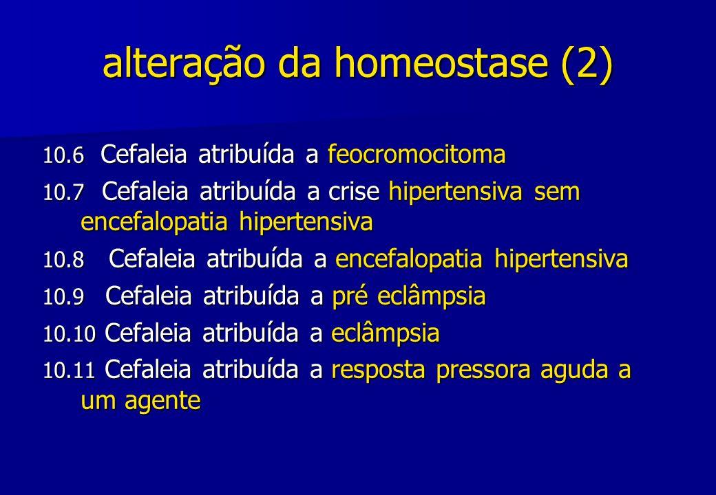 alteração da homeostase (2)