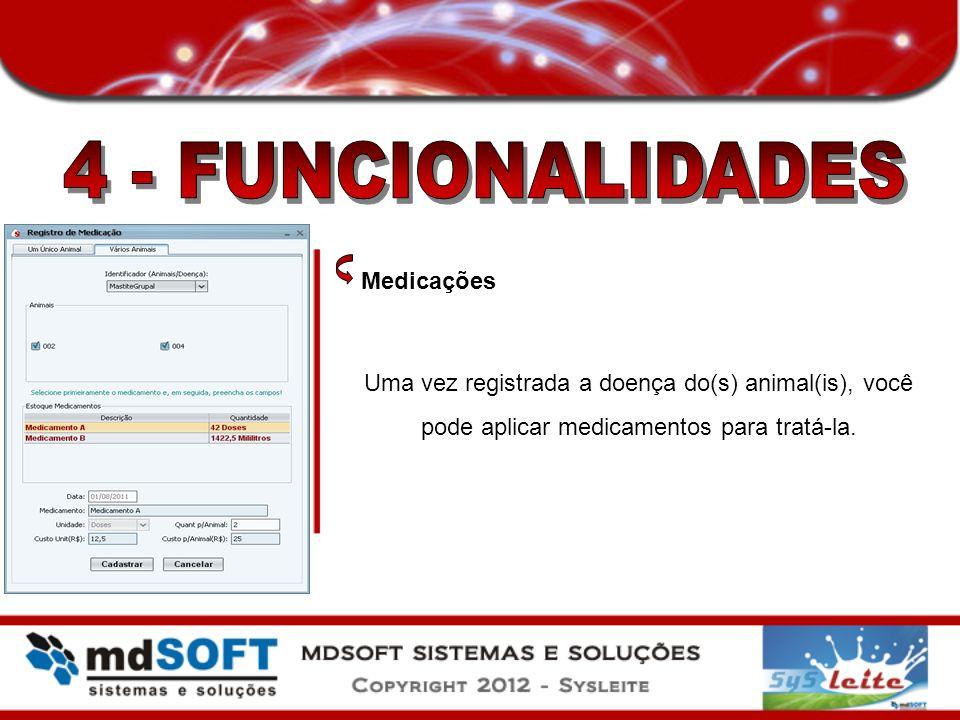4 - FUNCIONALIDADES Medicações