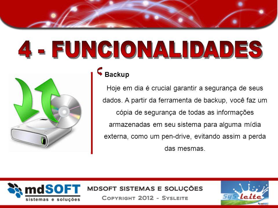4 - FUNCIONALIDADES Backup