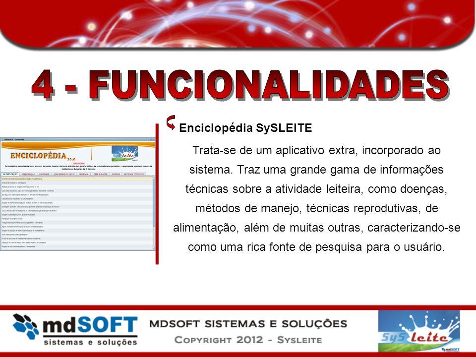 4 - FUNCIONALIDADES Enciclopédia SySLEITE
