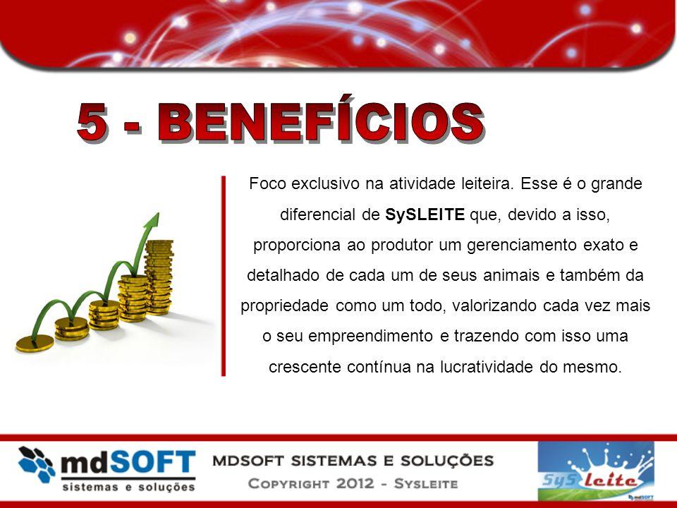 5 - BENEFÍCIOS