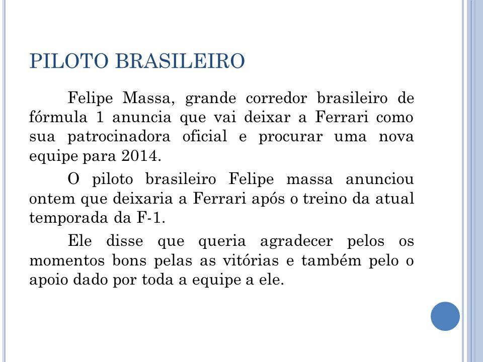PILOTO BRASILEIRO