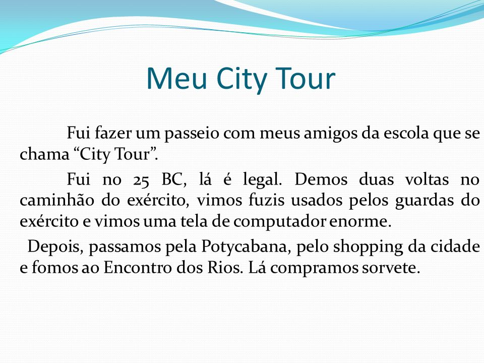 Meu City Tour