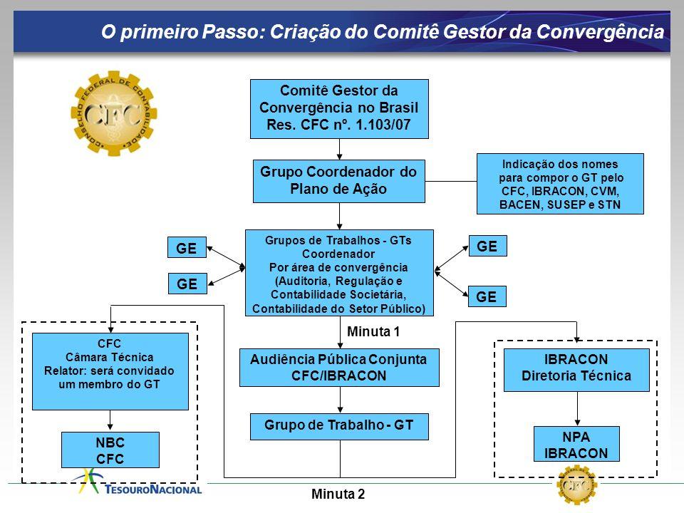 O primeiro Passo: Criação do Comitê Gestor da Convergência