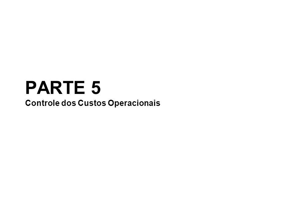 PARTE 5 Controle dos Custos Operacionais