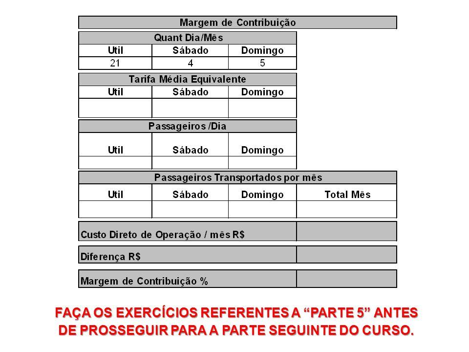 FAÇA OS EXERCÍCIOS REFERENTES A PARTE 5 ANTES DE PROSSEGUIR PARA A PARTE SEGUINTE DO CURSO.