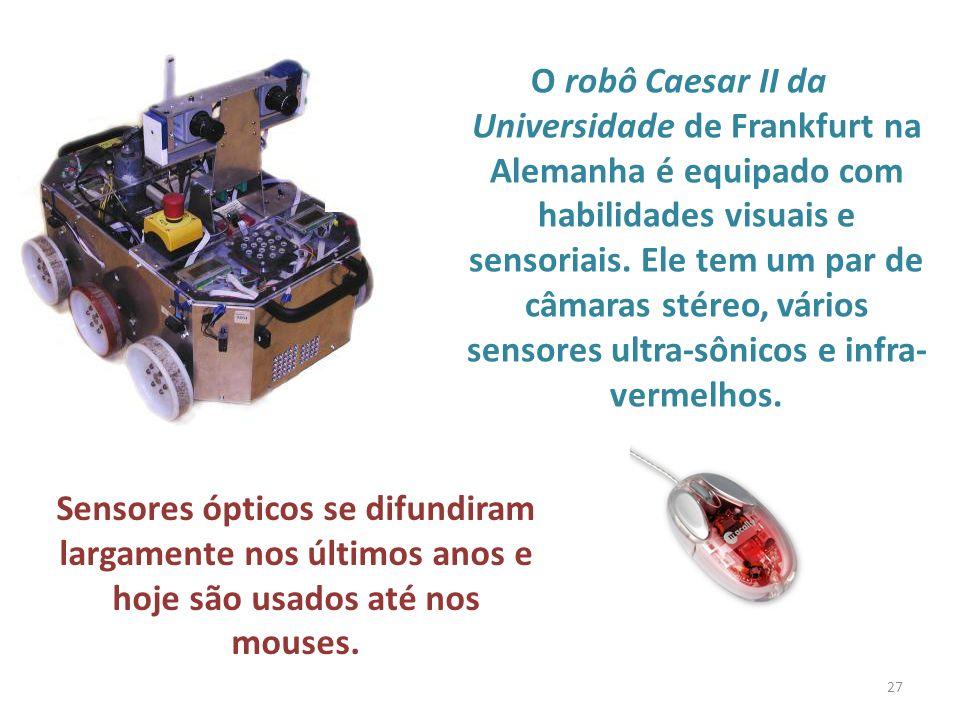 Sensores ópticos se difundiram largamente nos últimos anos e
