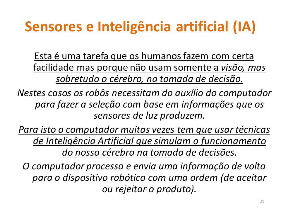 Sensores e Inteligência artificial (IA)
