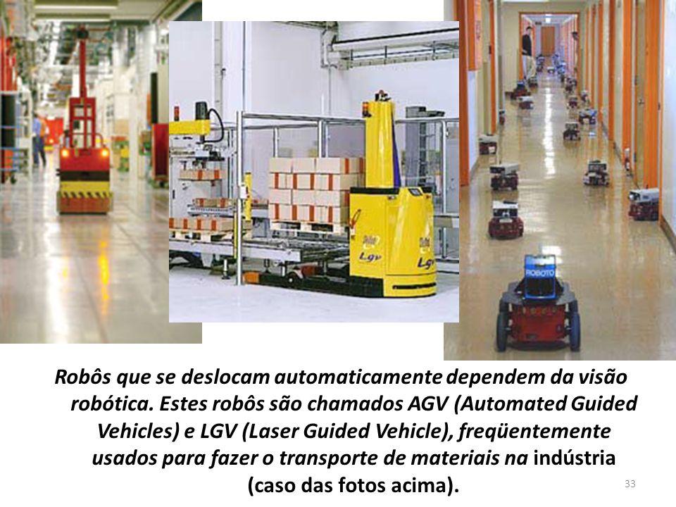 Robôs que se deslocam automaticamente dependem da visão robótica