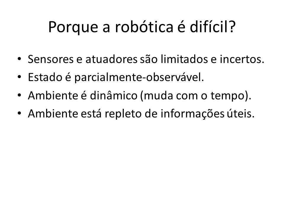 Porque a robótica é difícil