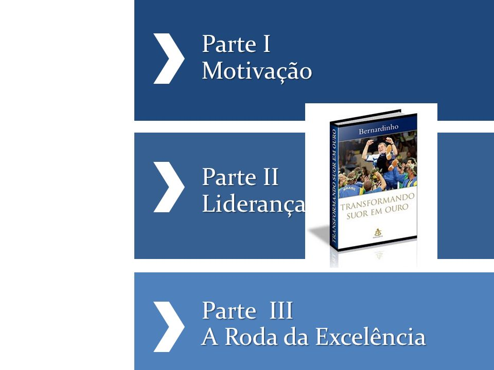 Parte I Motivação Parte II Liderança Parte III A Roda da Excelência