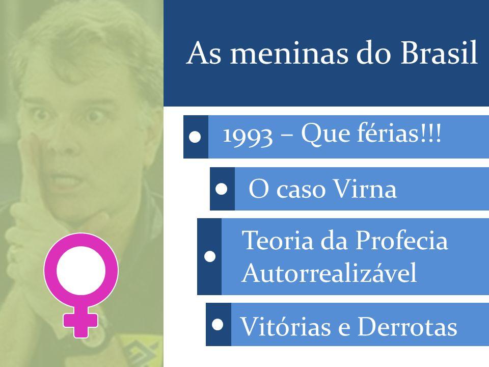 As meninas do Brasil 1993 – Que férias!!! O caso Virna