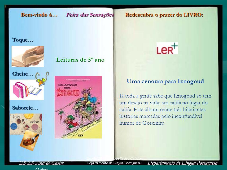 Leituras de 5º ano Uma cenoura para Iznogoud