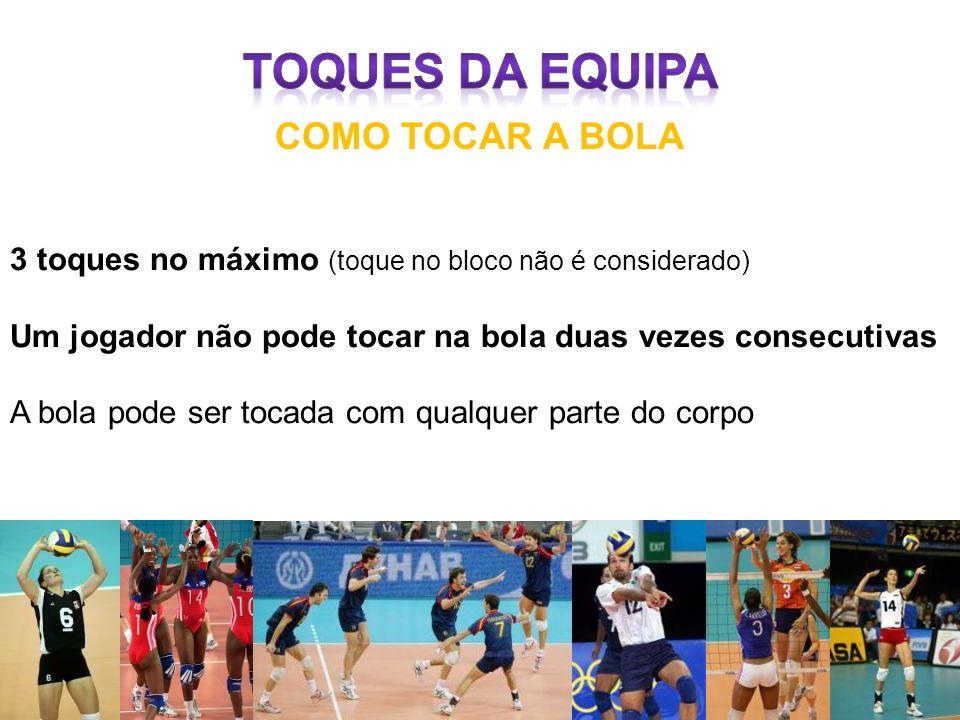 TOQUES DA EQUIPA COMO TOCAR A BOLA