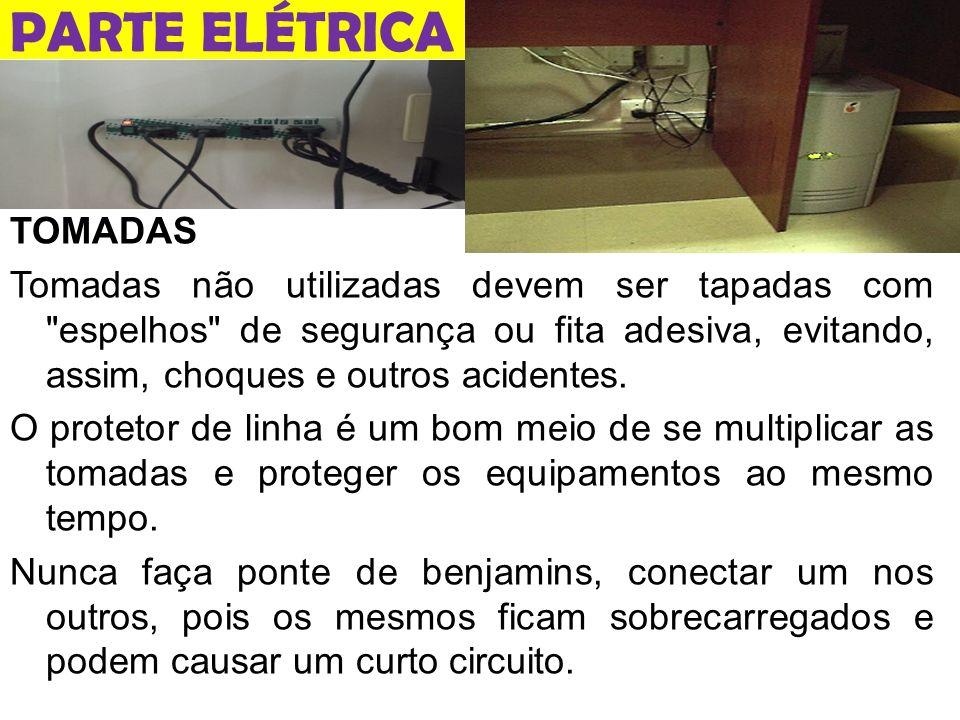 PARTE ELÉTRICA TOMADAS