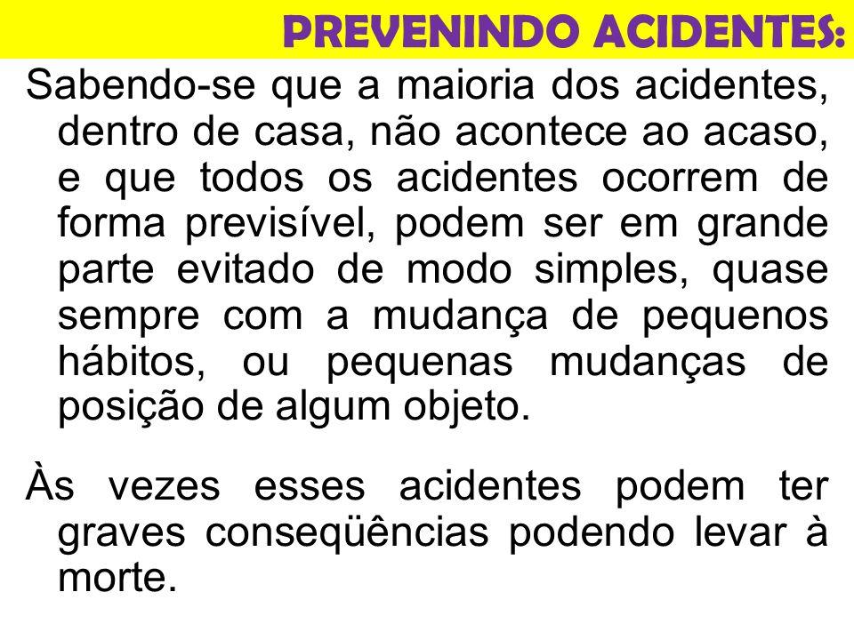 PREVENINDO ACIDENTES: