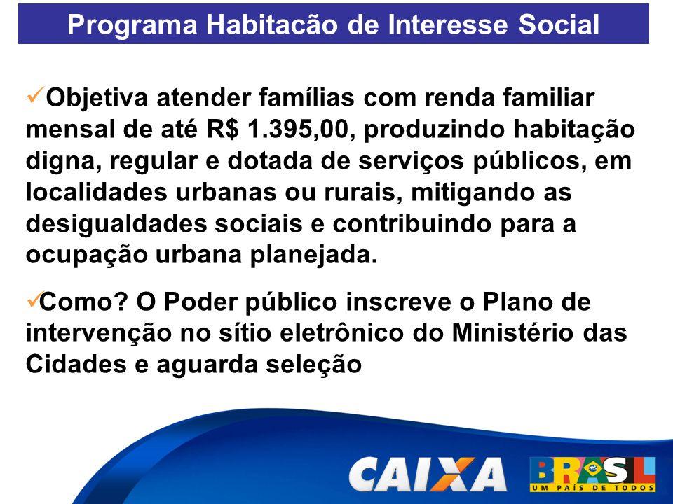 Programa Habitacão de Interesse Social