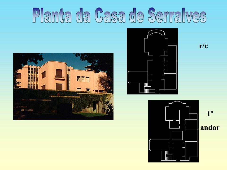 Planta da Casa de Serralves