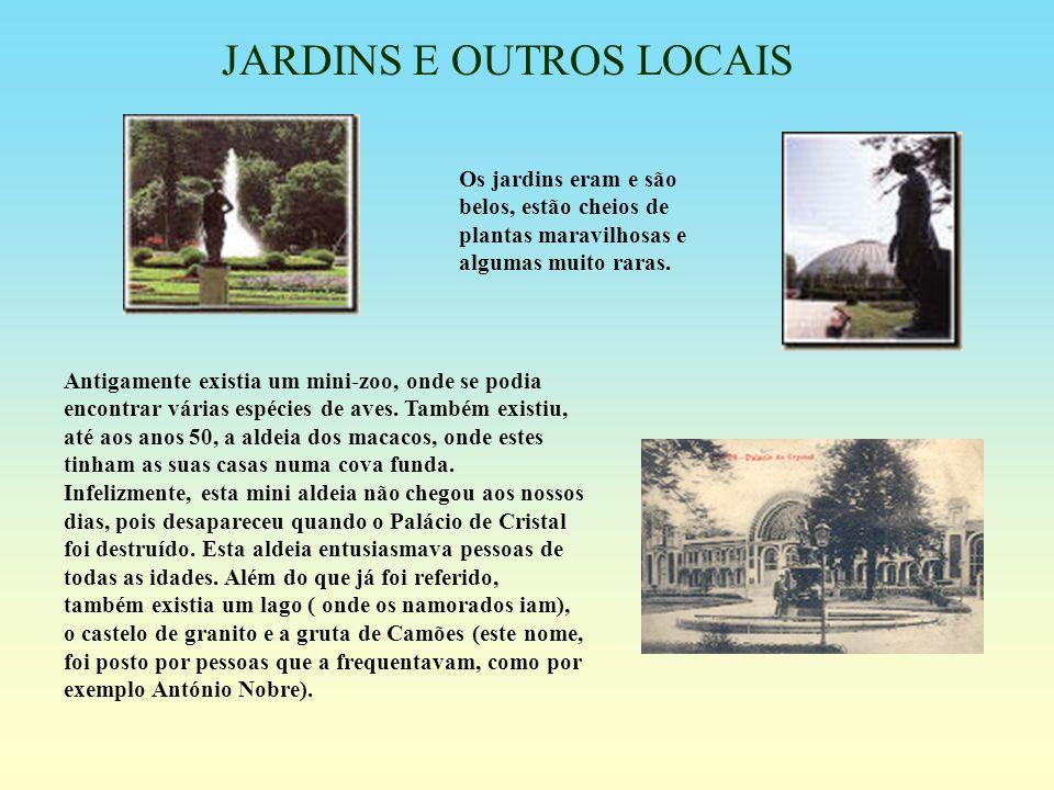 JARDINS E OUTROS LOCAIS