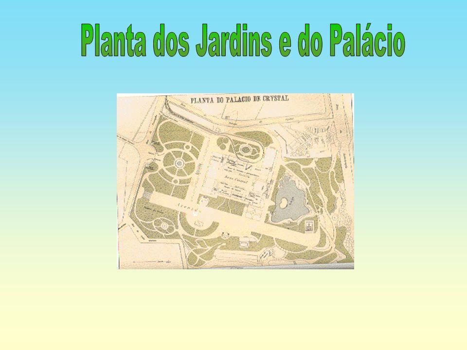 Planta dos Jardins e do Palácio