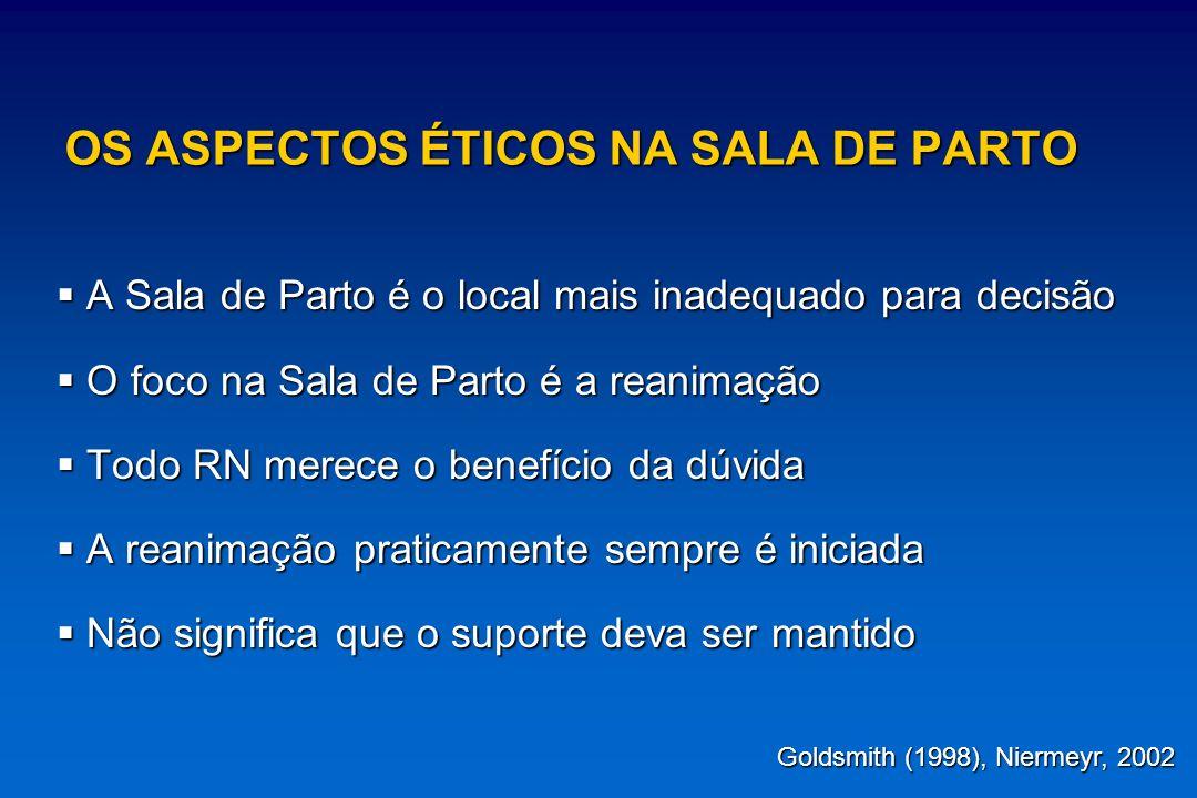 OS ASPECTOS ÉTICOS NA SALA DE PARTO