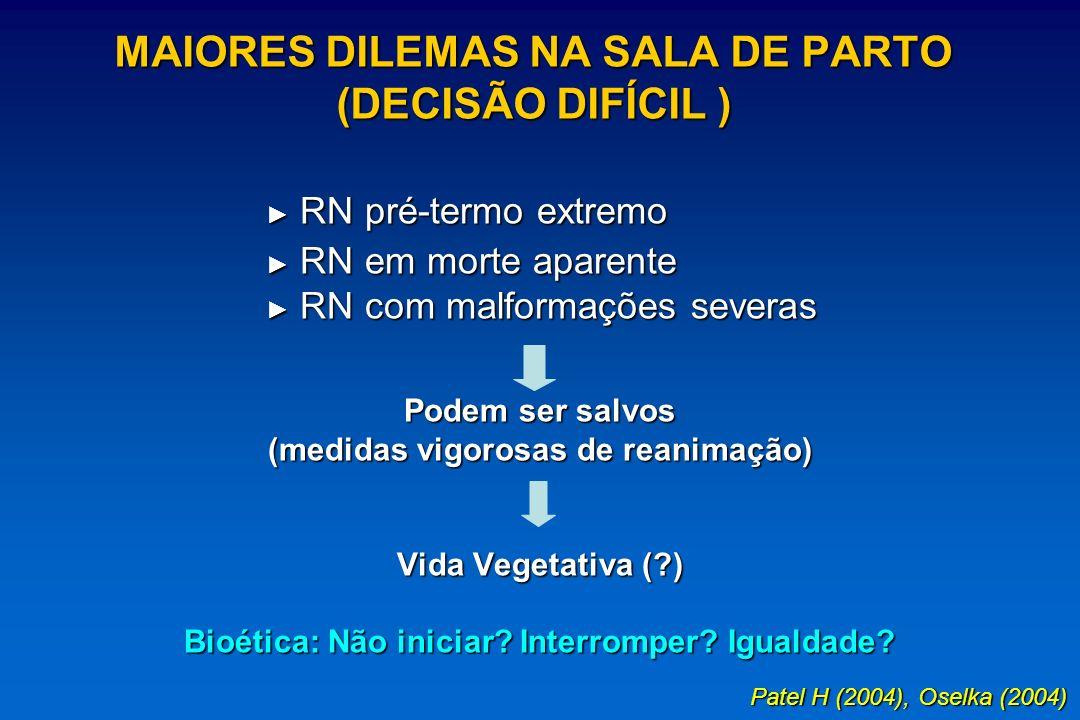 MAIORES DILEMAS NA SALA DE PARTO (DECISÃO DIFÍCIL )