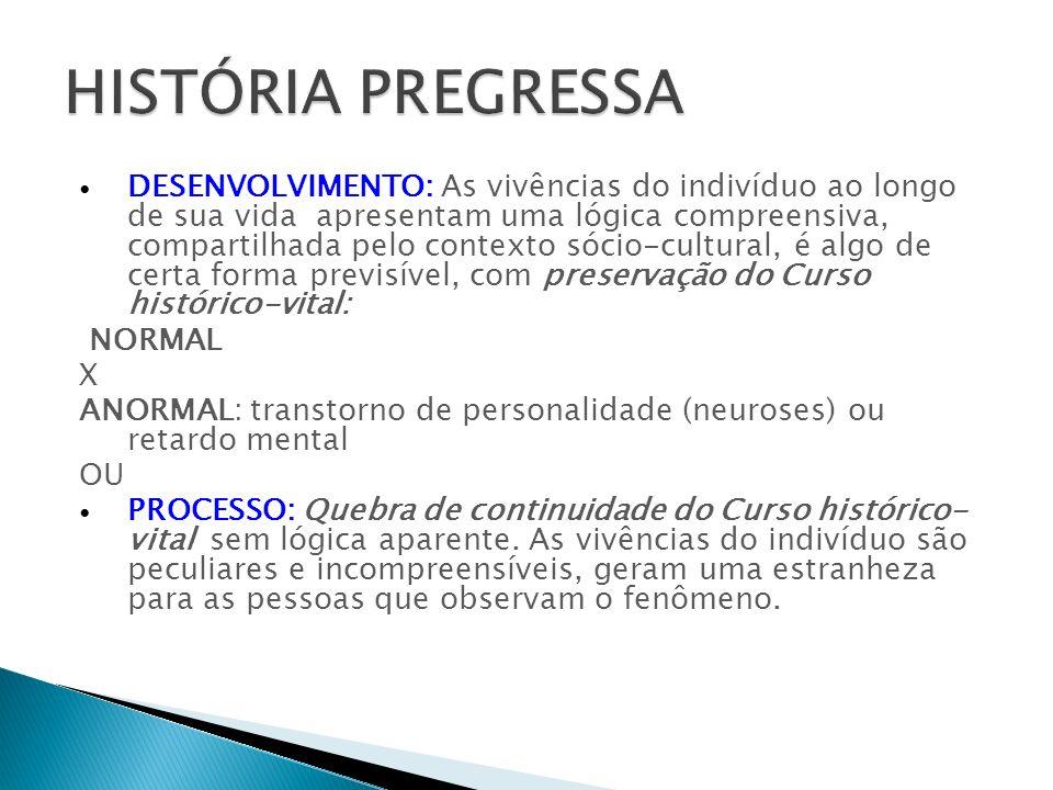 HISTÓRIA PREGRESSA