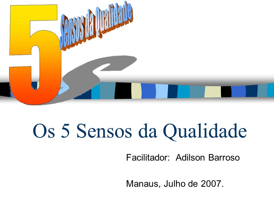 Facilitador: Adilson Barroso Manaus, Julho de 2007.