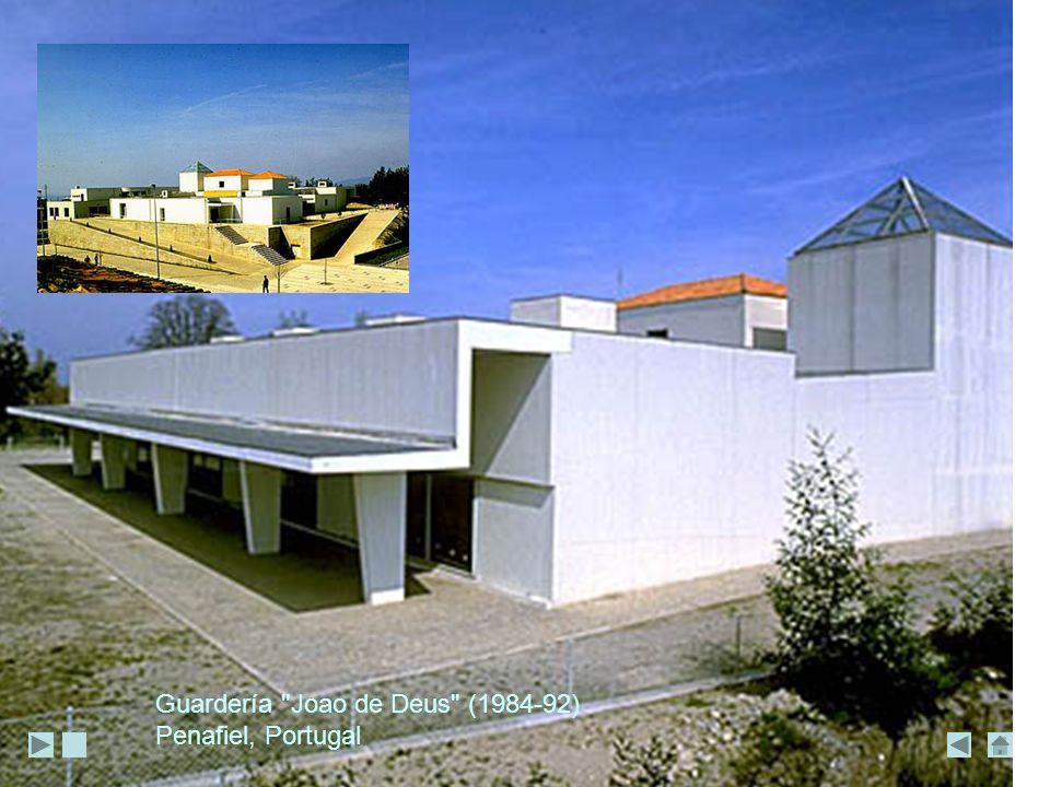 Guardería Joao de Deus (1984-92) Penafiel, Portugal