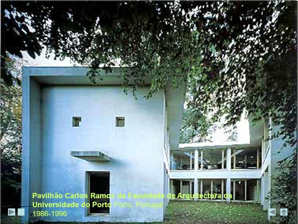 Pavilhão Carlos Ramos da Faculdade de Arquitectura da Universidade do Porto Porto, Portugal