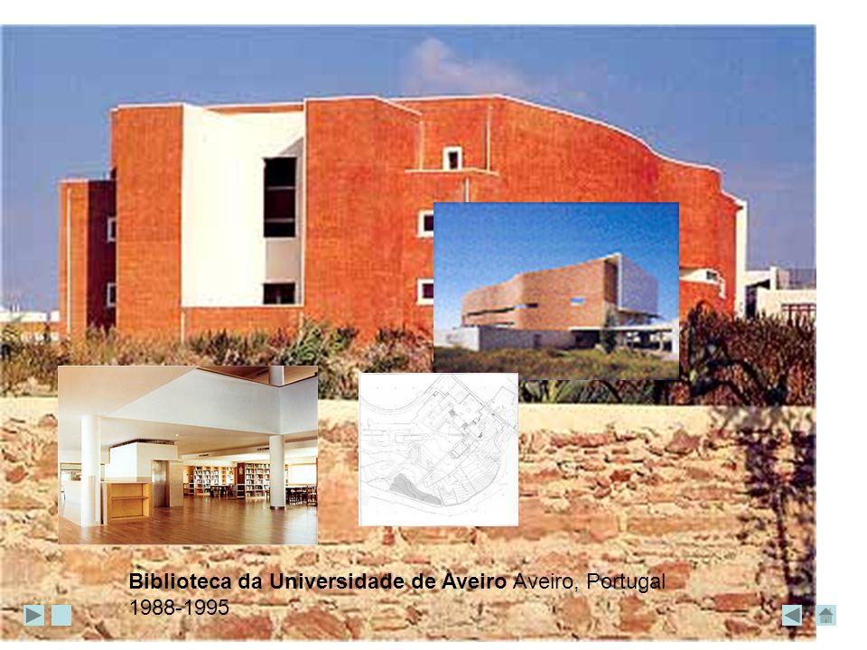 Biblioteca da Universidade de Aveiro Aveiro, Portugal