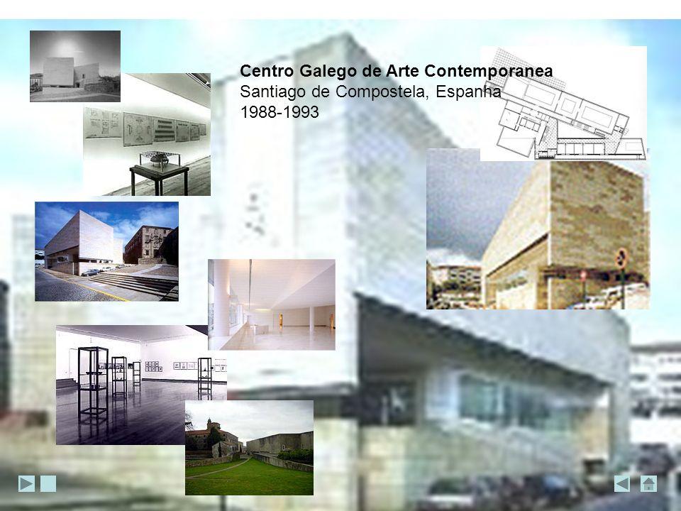 Centro Galego de Arte Contemporanea Santiago de Compostela, Espanha