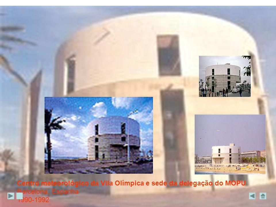 Centro meteorológico da Vila Olímpica e sede da delegação do MOPU Barcelona, Espanha