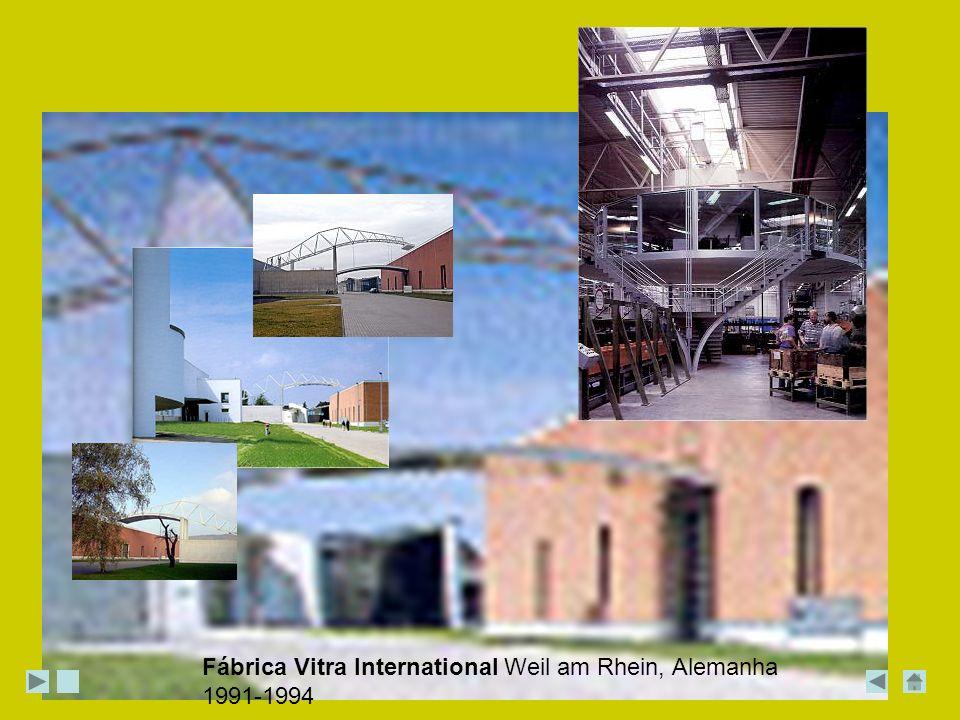 Fábrica Vitra International Weil am Rhein, Alemanha