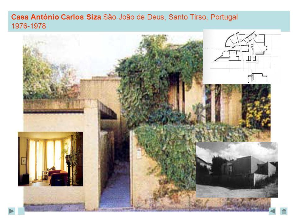 Casa António Carlos Siza São João de Deus, Santo Tirso, Portugal