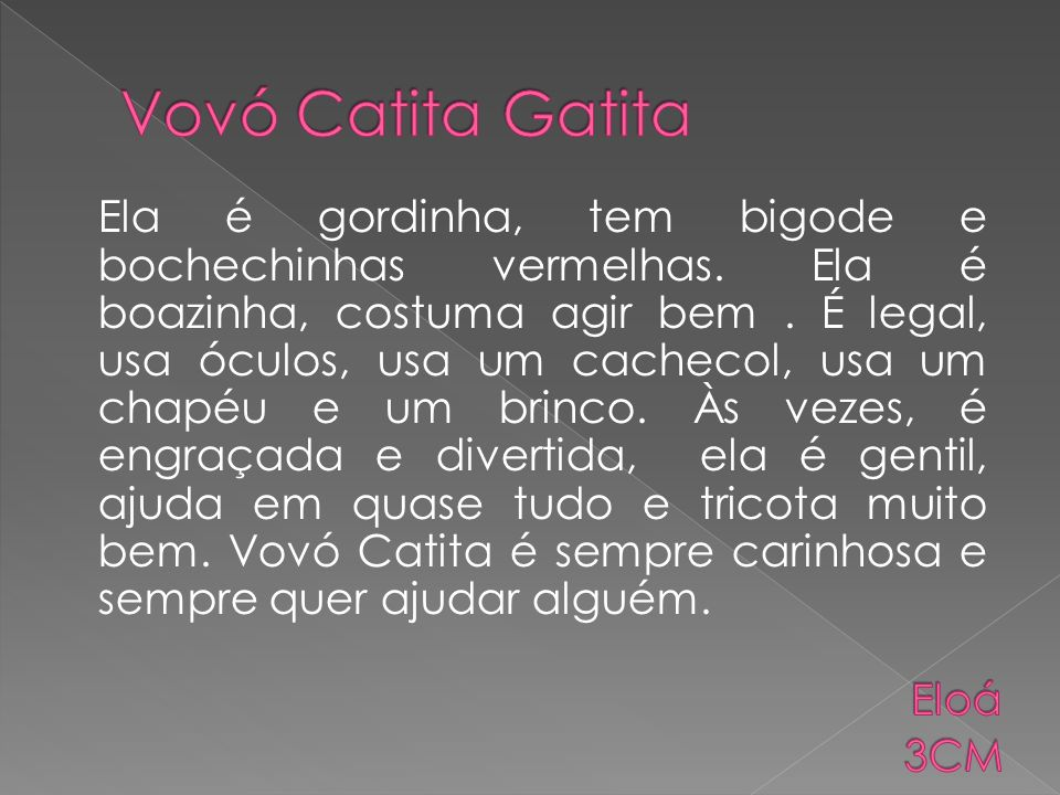 Vovó Catita Gatita