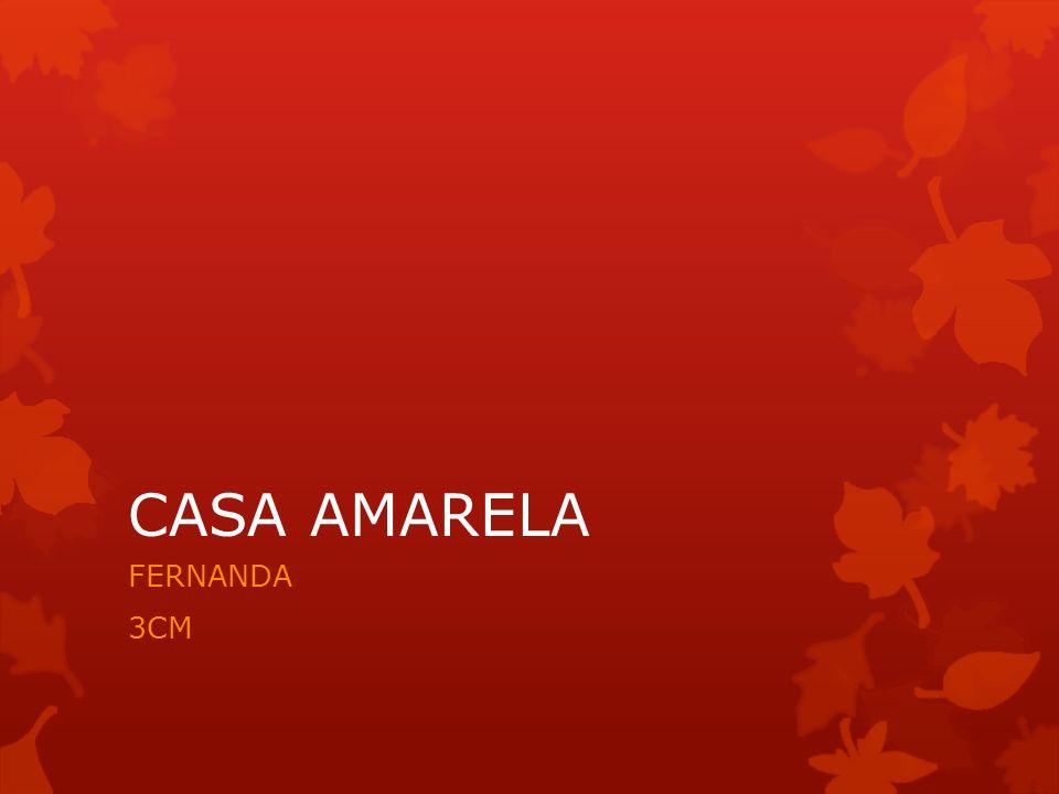 CASA AMARELA FERNANDA 3CM
