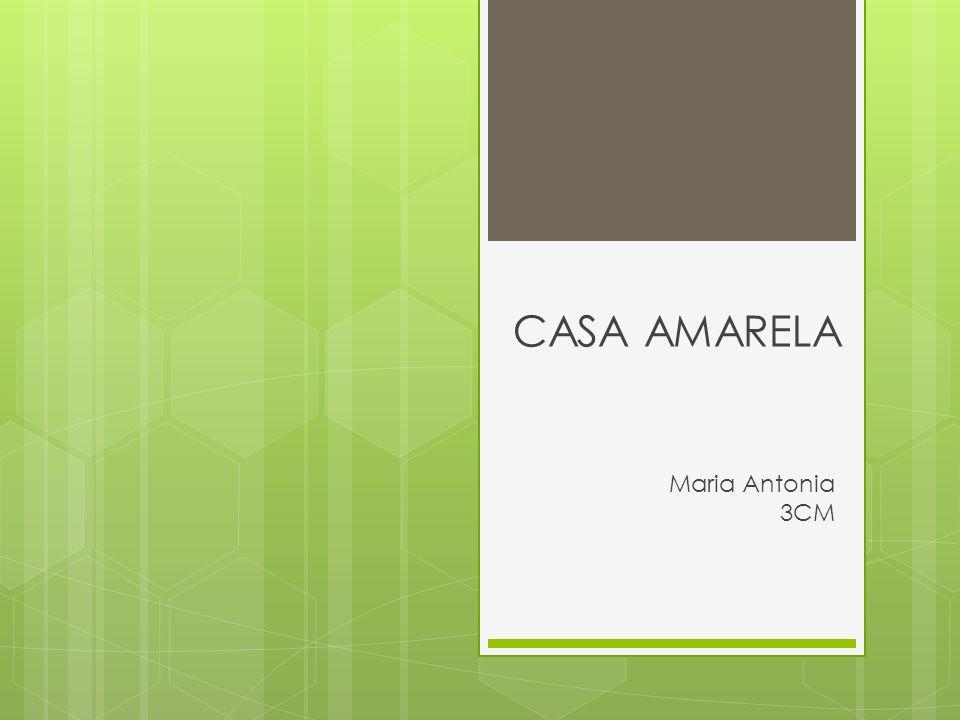 CASA AMARELA Maria Antonia 3CM