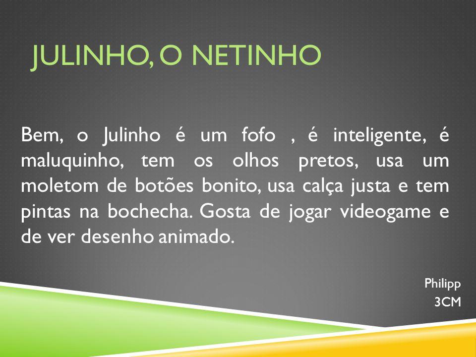 JULINHO, O NETINHO