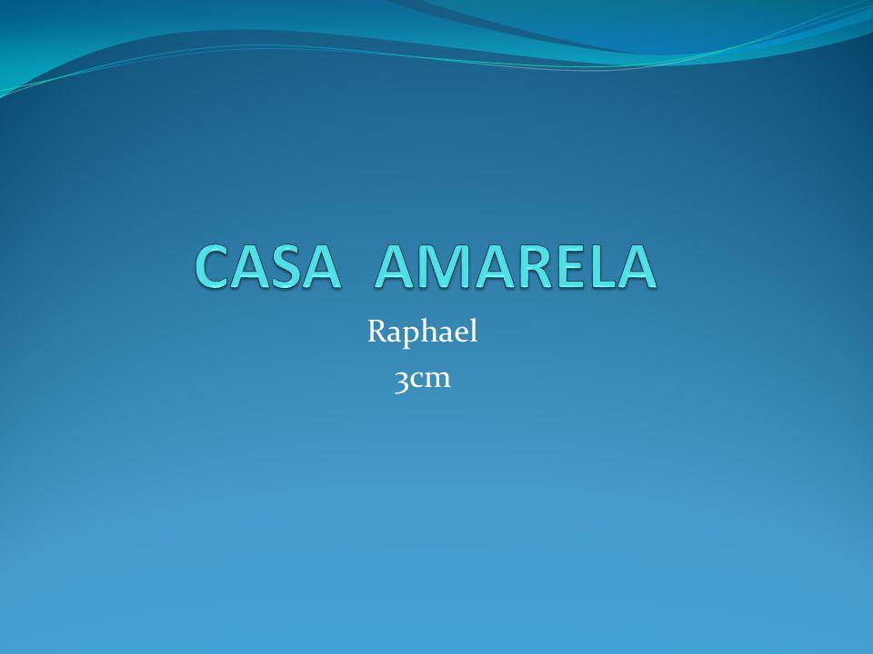 CASA AMARELA Raphael 3cm