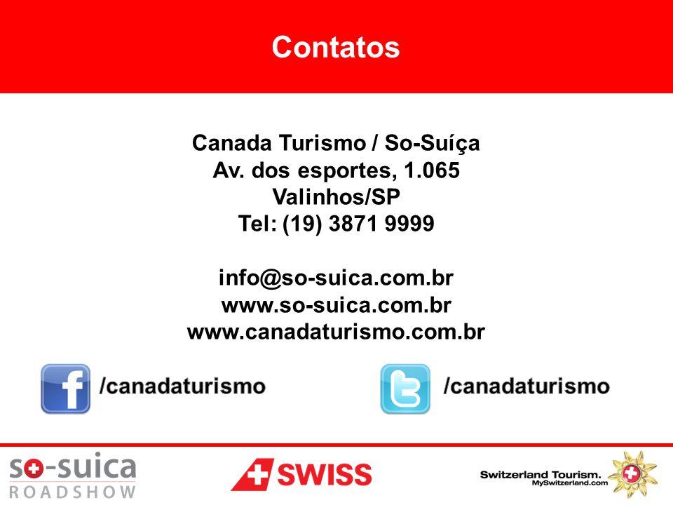 Canada Turismo / So-Suíça /canadaturismo /canadaturismo