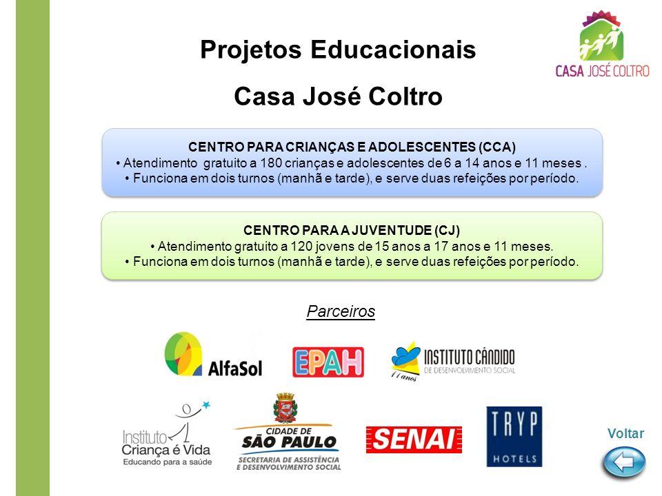 Projetos Educacionais Casa José Coltro