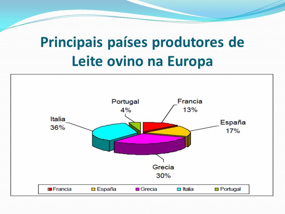Principais países produtores de