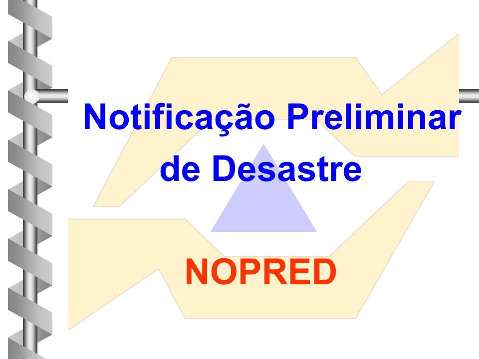 Notificação Preliminar